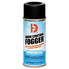 Odor Control Fogger, Mountain Air Scent, 5 oz Aerosol, 12/Carton