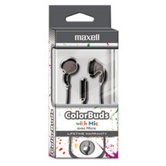 Colorbuds with Microphone, Silver