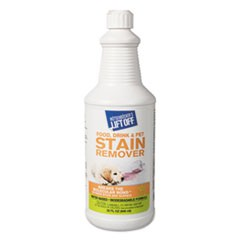 Food/Beverage/Protein Stain Remover, 32oz Pour Bottle