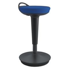 AdaptivErgo Balance Perch Stool, Blue with Black Base