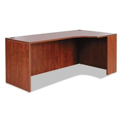 Alera Valencia Right Corner Credenza Shell, 72w x 36d x 29 1/2h, Medium Cherry