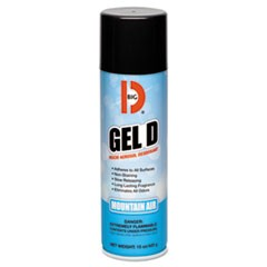 Gel D Viscid Aerosol Deodorant, Mountain Air Scent, 15 oz Aerosol, 12/Carton