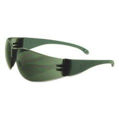 Safety Glasses, Gray Frame/Gray Lens, Polycarbonate, Dozen