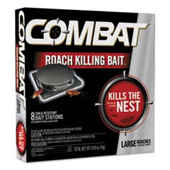 Source Kill Large Roach Killing System, Child-Resistant Disc, 8/Box