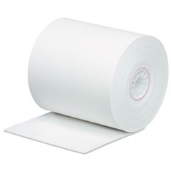 "Impact Bond Paper Rolls, 3"" x 165 ft, White, 50/Carton"