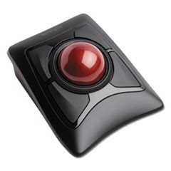 Expert Mouse Wireless Trackball, Four Buttons, Black