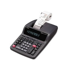 DR-210TM Two-Color Desktop Calculator, Black/Red Print, 4.4 Lines/Sec