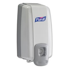 NXT Instant Hand Sanitizer Dispenser, 1000mL, 5 1/8w x 4d x 10h, WE/Gray