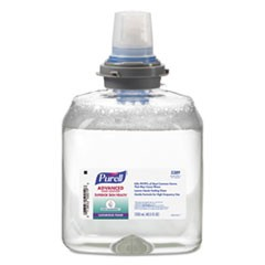 Advanced Hand Sanitizer Ultra Nourishing Foam, 1200 mL Refill, 2/Carton