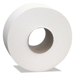 "Select Jumbo Roll Tissue, 2-Ply, White, 3 1/2"" x 1000 ft, 12 Rolls/Carton"