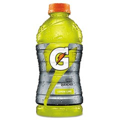 G-Series Perform 02 Thirst Quencher Lemon-Lime, 20 oz Bottle, 24/Carton