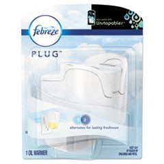 "PLUG Air Freshener Warmer, Off White, 5""w x 2 3/5""d x 6 1/2""h, Plastic, 4/Carton"