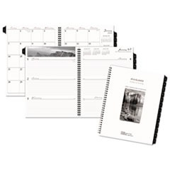Executive Fashion Weekly/Monthly Planner Refill, 8 1/4 x 10 7/8, 2019