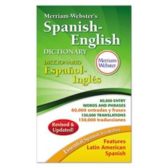 Merriam-Webster�s Spanish-English Dictionary, 928 Pages