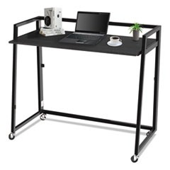 Quick Assemble Computer Workstation, Espresso/Black