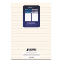 Notebook Refill, Ruled, 8 1/4 x 5 13/16, Cream, 32 Sheets/Pack
