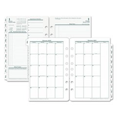 Original Dated Daily Planner Refill, January-December, 5 1/2 x 8 1/2, 2018