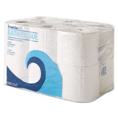 Office Packs Toilet Tissue, 2-Ply,White, 4x4 Sheet, 300 Sheets/Roll, 72 Rolls/Ct