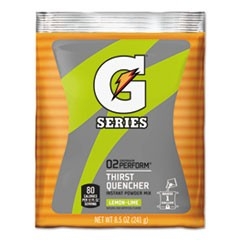 Original Powdered Drink Mix, Lemon-Lime, 8.5oz Packets, 40/Carton