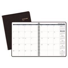 Monthly Planner, 6 7/8 x 8 3/4, Winestone, 2019