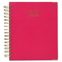 Harmony Weekly Monthly Hardcover Planners, 7 x 9, Pink