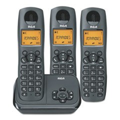2162 Series One Line Cordless Phone, 2 Handsets