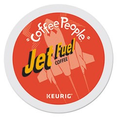 Jet Fuel Dark Roast Coffee K-Cups, 24/Box