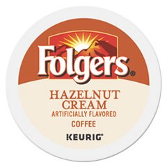 Hazelnut Cream Coffee K-Cups, 24/Box
