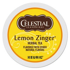 Lemon Zinger Herbal Tea K-Cups, 96/Carton