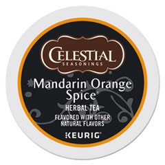 Mandarin Orange Spice Herb Tea K-Cups, 96/Carton