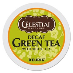 Decaffeinated Green Tea K-Cups, 24/Box