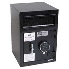 Depository Security Safe, 14 x 15 1/2 x 20, Black
