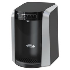 Aquarius Counter Top Hot N Cold Water Cooler, 13 1/4 dia. x 17 h, Black