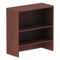 "Alera Valencia Series Hutch, 34""w x 15""d x 35 1/2""h, Medium Cherry"