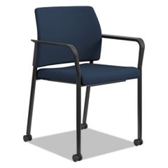 Accommodate Series Guest Chair, Navy, Fabric, 2 per carton