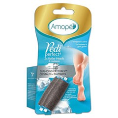 Pedi Perfect Electronic Foot File Refill, Gray, 2/Pack