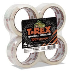 "Packaging Tape, 1.88"" x 35 yds, Crystal Clear, 4/Pack"