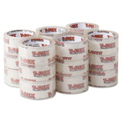 "Packaging Tape, 1.88"" x 35 yds, Crystal Clear, 18/Pack"