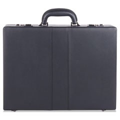 Expandable Attache Case, 13 x 3.5 x 18, Black