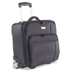 "Harry Slim Business Case on Wheels, 15"" x 4.75"" x 13.75"", Polyester, Gray"