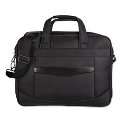 "Gregory Convertible Executive Briefcase, 16.25"" x 4.25"" x 11.5"", Nylon, Black"