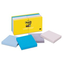 Pads in New York Colors Notes, 3 x 3, 90-Sheets/Pad, 12 Pads/Pack