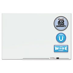"Element Framed Magnetic Glass Dry-Erase Boards, 50"" x 28"", Aluminum Frame"