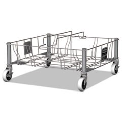 "Slim Jim Steel Dolly, 200lbs., 20"" x 20.6"" x 9"", Stainless Steel"