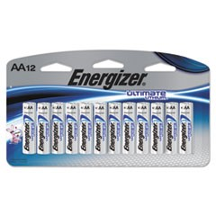 Ultimate Lithium Batteries, AA, 12/Pack