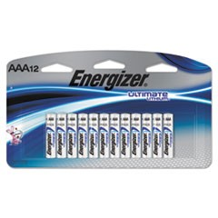 Ultimate Lithium Batteries, AAA, 12/Pack
