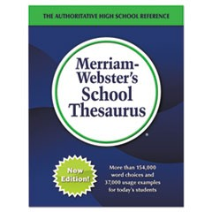 School Thesaurus, Grades 9-11, Hardcover, 1,024 Pages