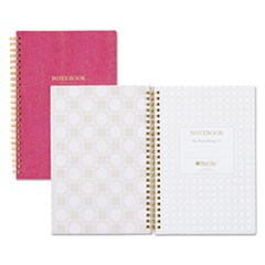 "Notebook, Ruled, 5.75"" x 8.5"", 80 Pages, Berry"
