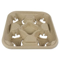 Cup Tray, 8-32 oz, Four Cups, 300/Carton