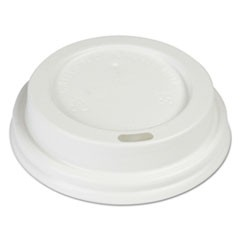 Hot Cup Dome Lids, Fits 8 oz Hot Cups, White, 1000/Carton